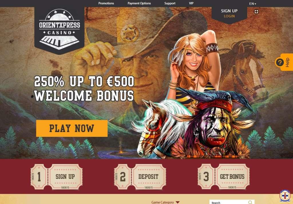 OrientXpress est un casino en ligne qui sait séduire ses membres avec des bonus et promotions