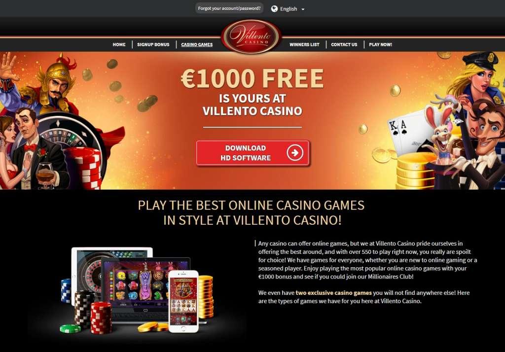 STARPARTNERCasinoGamesVillento Casino